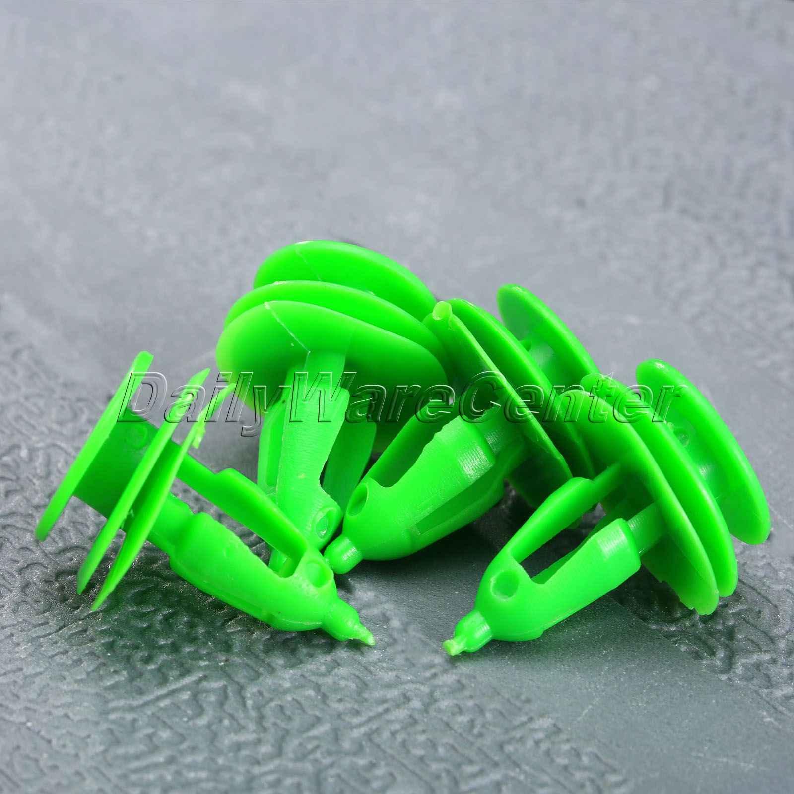 JEEP TRIM PANEL CLIPS DOOR CARDS REPAIR BUMPER LINING SIDE SKIRT 10X
