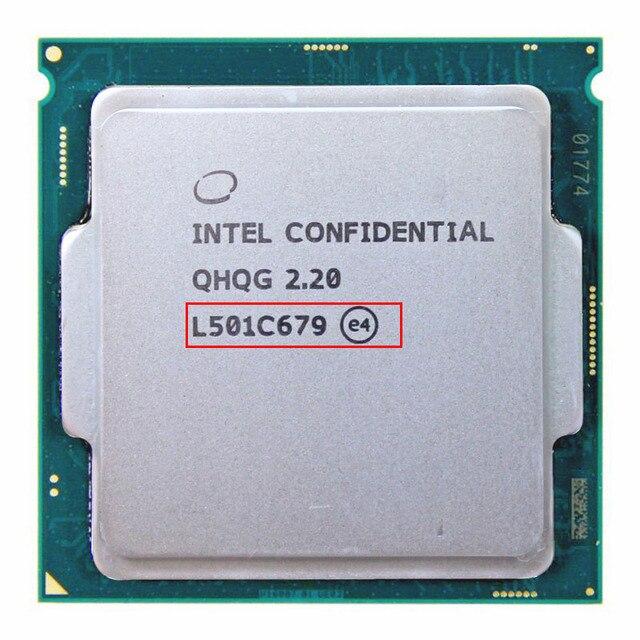 Qhqg ES Процессор Intel инженерных версия Intel Core i7 6700 К i7-6700k Процессор 2.2 г 65 Вт графика hd530