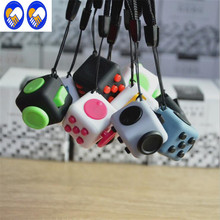 A Toy A Dream Mini Fidgeted Cube Vinyl Desk Toy Keychain Squeeze Fun Stress Reliever 2