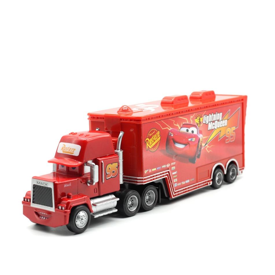Makina Disney Pixar 2 3 No. 95. Rrufeja McQueen Mack Truck Uncle - Makina lodër për fëmije - Foto 2
