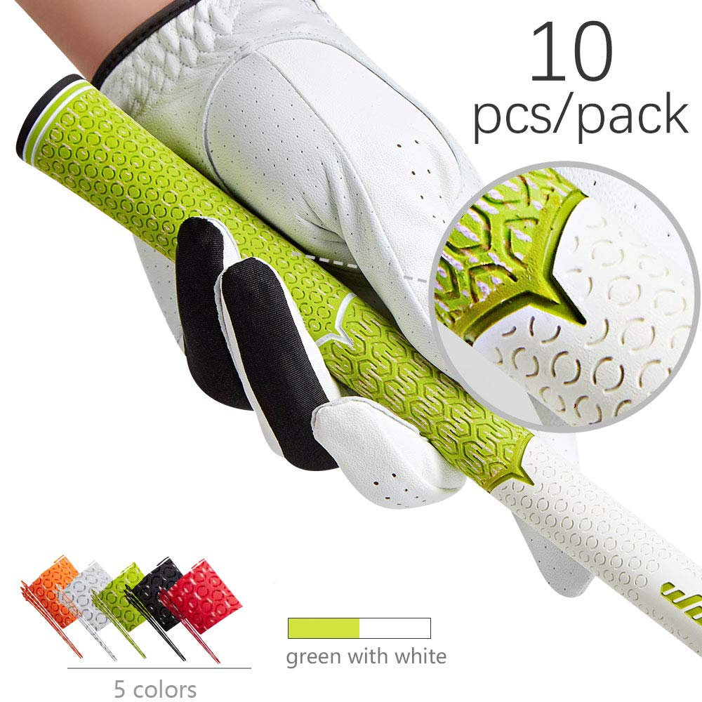 Golf Grip Standard mens Non slip soft cord for golf club irons free shipping-in Club Grips from Sports & Entertainment