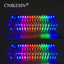 light cube LED music spectrum Level display electronic production DIY kits VU tower Diy KS16 Fantasy crystal sound column