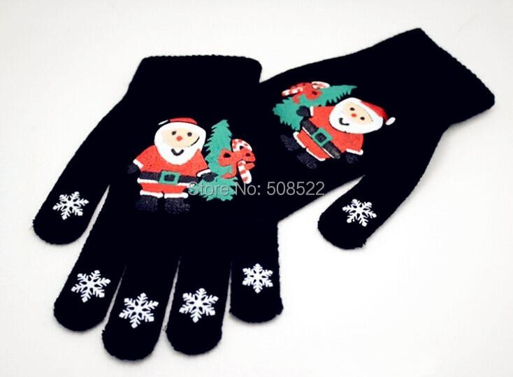 Jõulud kaunistamiseks kindad tootja üksi mudel Christmas kudumise - Pühad ja peod