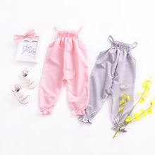 Baby Girl Romper Newborn Jumpsuit Clothes Summer Floral Baby Costumes Elastic Belt Baby Onesie Overalls For Newborns new arrival jumpsuit elephant monkey lion owl elf pink horses penguins leotard romper infant costumes baby costumes baby onesie