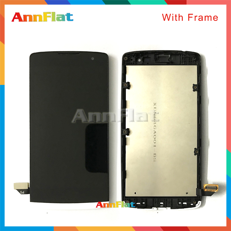 DHL high quality 4.5'' For LG LG Leon H340N H320 H340 H324 C50 MS345 Y50 LCD Display Screen With Touch Screen Digitizer Assembly