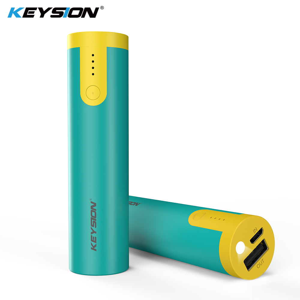 Keysion 2000/3350 Mah Moveable Energy Financial institution Emergency Small Battery Powerbank For Iphone Xs Plus 9 eight 7 6S With Flashlight Operate