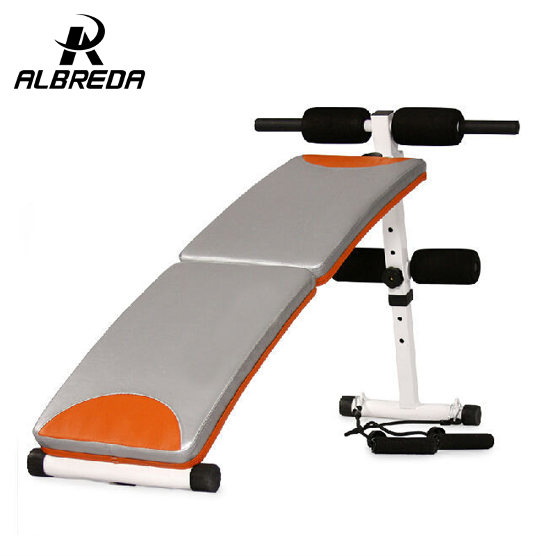 ФОТО new arrival Sit Up Bench fitness equipment for home abdominal waist trainer bench women ab mat the exercise machine for a waist