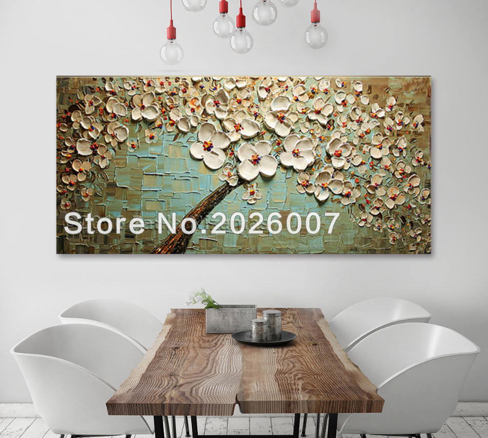 Handmade Painting Soft Touch of Sun Peaceful original Oil Palette Knife texture Modern style luxury looks thick layers