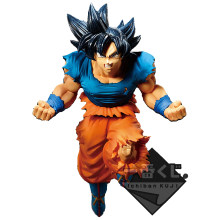 Tronzo original banpresto dragon ball super goku ultra instinto pvc figura de ação modelo brinquedos no exterior limitada final recompensa presentes(China)