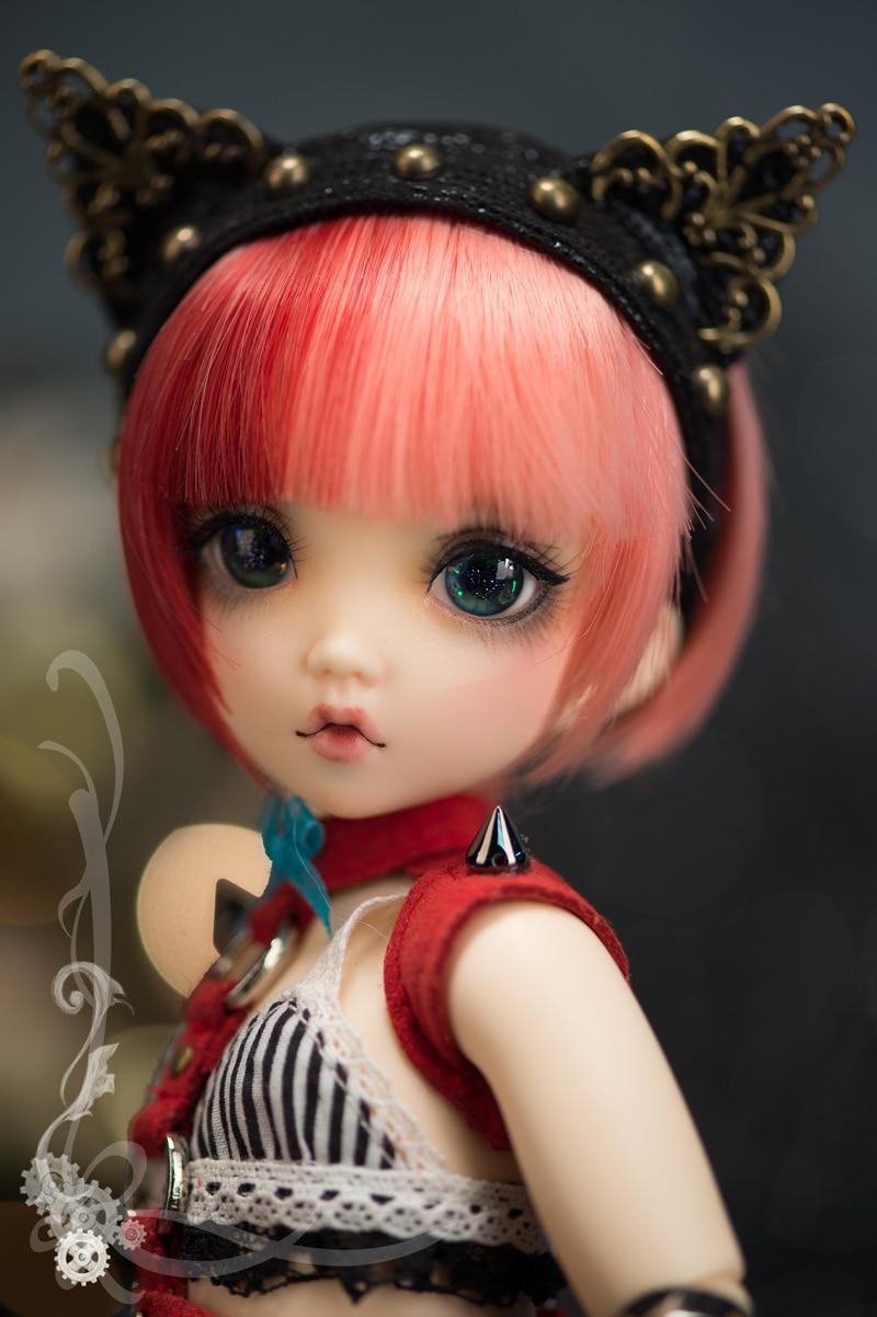 Bjd doll 1 6 Mio Girl fashion doll high quality model birthday gift free eyes