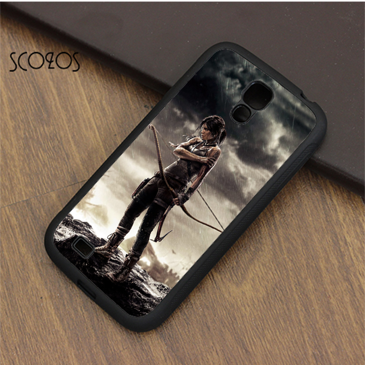 SCOZOS Tomb Raider Rise of Lara phone case cover for samsung galaxy S3 S4 S5 S6 S7 S8 S6 edge S7 edge note 3 note 4 note 5 ...