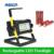 Super Brilhante LEVOU Ao Ar Livre Holofote Recarregável 36 LEDS Camping Trabalho Lâmpada IP65 À Prova D' Água com 4x18650 Bateria & Carregador