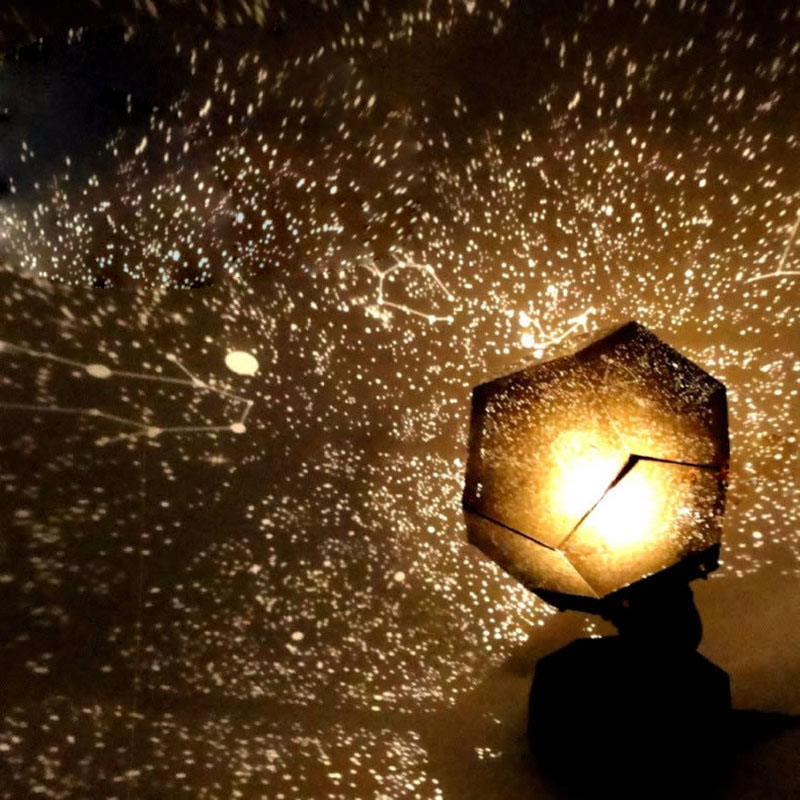 Fantastic Astro Star Laser Projector Cosmos Night Lamp DIY Sky Light Romantic Sleep Atmosphere Party Decorations