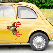 Funny Cartoon 3D Car Stickers and Decals Window Decoration Auto Door Scratch Covers Graphics Sticker Car Accessories