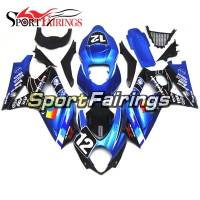 Complete New Fairings For Suzuki 2007 2008 GSXR1000 K7 07 08 Motorcycle Body Frames GSXR1000 Injection Blue Black 12 Cowlings