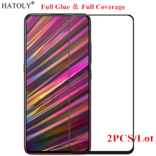 2Pcs Vivo V15 Glass Tempered for Film 9H HD Full Glue Cover Hard Screen Protector