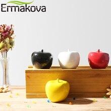 ERMAKOVA Ceramic Apple Figurine Modern Porcelain Apple Statu