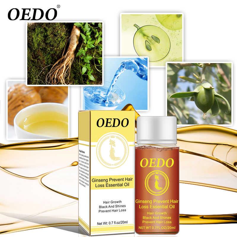 OEDO 20 ml Ginseng Haar Wachstum Essenz Öl Anti-Haarausfall Schnelle Leistungsstarke Haar Produkte Dichten Schnelle Restorating Scal behandlung TSLM2