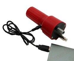 Bateria do motor do motor grelha churrasqueira acessórios PARA CHURRASCO 1.5 V USB vermelho e preto
