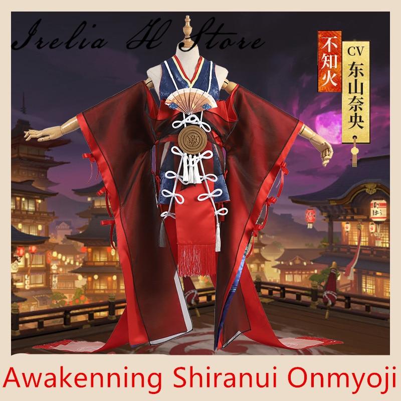 Awakening Shiranui Onmyoji SSR Shiranui Diver Ali Kimono Cosplay Costume sexy Dress Halloween costume gift 1