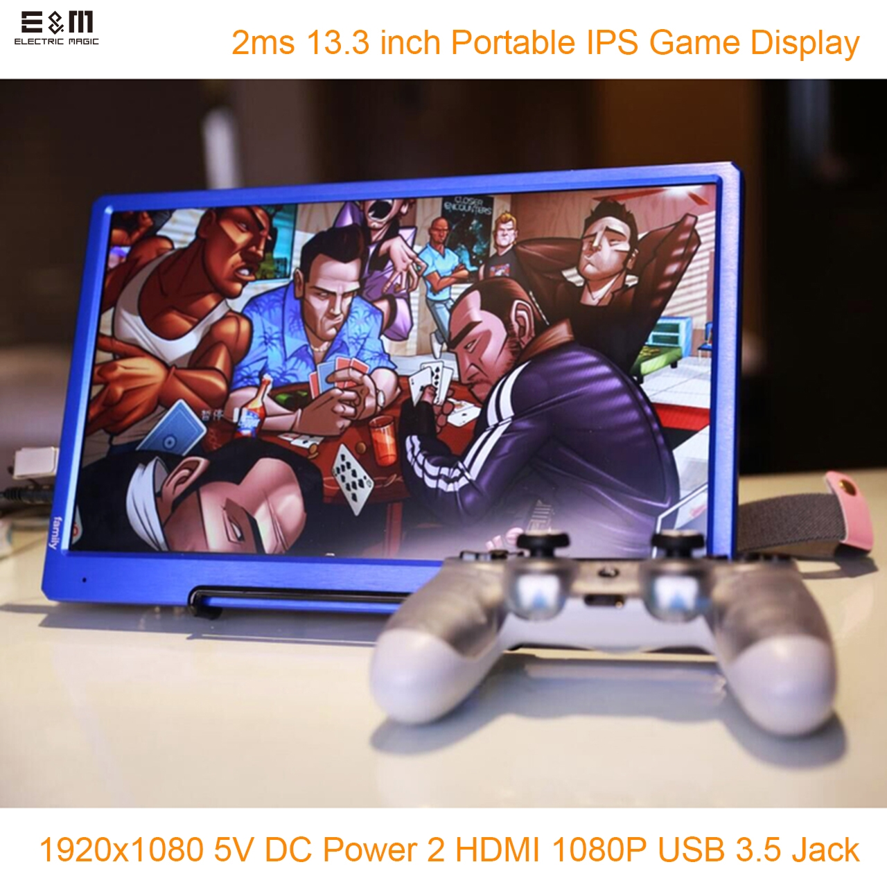 Portable Exhibition Games : E m ms v inch  portable game screen lcd