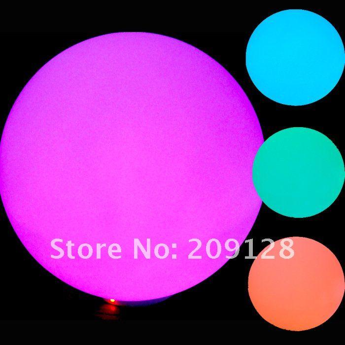 DHL gratis frakt 20cm fargerik ledet ball lys for fest dekorasjon - Ferie belysning - Bilde 6