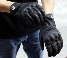 2017 досуг моды мото кожаные перчатки moto мотокросс мотоцикл езда защитные перчатки дышащий все пальцы перчатки