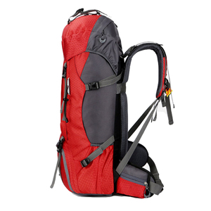 Image 4 - Mochila De Montañismo al aire libre de 50L/60L, bolsa de escalada para acampar, senderismo, viaje, bolsa de deporte, Molle, escalada