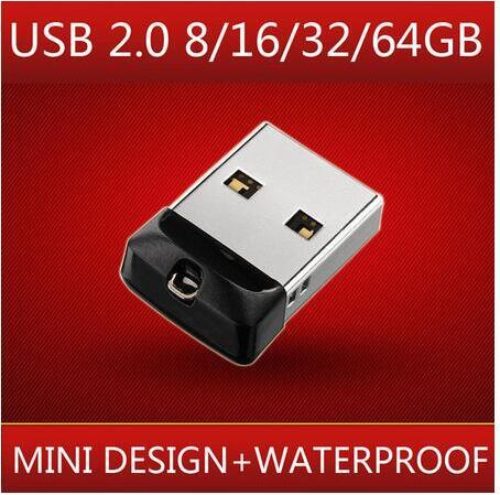 Portable usb stick mini flash drive usb flash drive16/32/64GB memory stick real capacity u disk pen drive usb pendrive New gift!