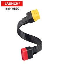 OBD2 Удлинительный кабель Launch OBD кабель папа к женскому OBD2 16PIN разъем адаптера для X431 V/V +/PRO 3/thinkdiag