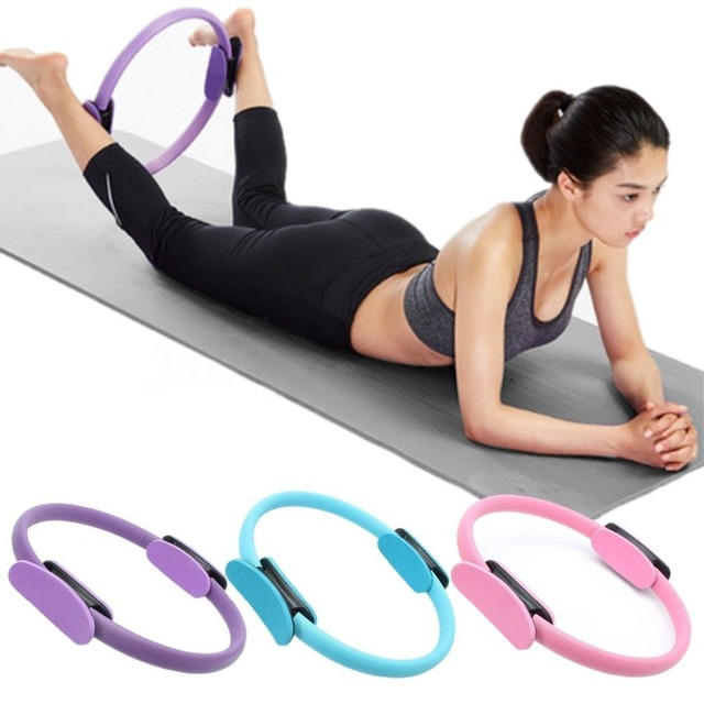 38cm Professional Pilates Magic Fitness Circle Yoga Ring Crossfit Workout Sport Equipment Weight Loss Home
