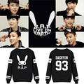 Fashion kpop b. a. p same concert matrix printing hoodies k-pop bap women fall winter men leisure or neck sweatshirts