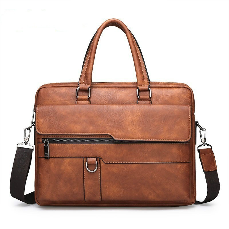 Fashion Men  Briefcase Handbags Business Leather Bag Men Shoulder Messenger Bags Male Handbag Laptops Bag Bolso Hombre Sac Homme