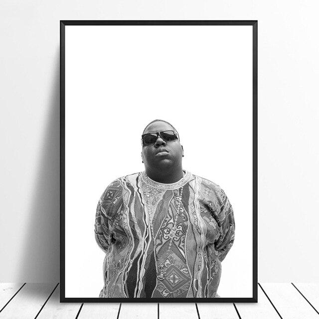 Bosluk Buyuk Biggie Smalls Sarkici Muzik Posteri Hip Hop Rapprint