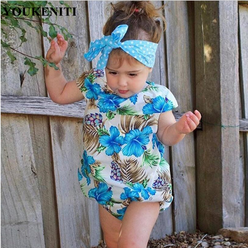 2018 New Arrival Child Sleeveless Floral Print Body For Baby Sliders Girls Jumpers Polyester Fashion Bodysuit Clothes For Girls