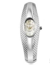 Rhinestone Silver Bangle Watch Women Brand Analog Quartz watch Bracelet Fashion Watches Clocks Hours Ladies relojes