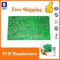 Kostenloser Versand Niedrigen Kosten PCB Prototyp Hersteller, 1-6 Schichten FR4 PCB Leiterplatten, aluminium Flexible PCB, Schablone, Zahlen Link 2