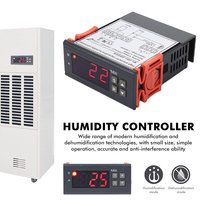 Digital Temperature Controller Humidity Controller Sensor Incubator 12V/110V/220V Digital Display Digital Hygrometer Controller