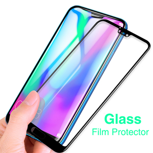 Image 4 - Tempered Glass on For Honor 10 Lite Protective Glass For Huawei Honer 20 Light 9 Lite 10i 20 Lite Safety Screen Protector Covers