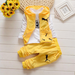 2016 new autumn spring baby boys clothing sets kids 3pcs vest t shirt pants children cute.jpg 250x250