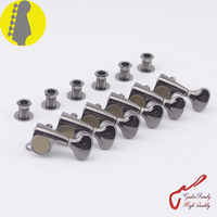1 Set Original Genuine 6 In line GOTOH SGS510Z S5 Guitar Machine Heads Tuners ( Cosmo Black ) MADE IN JAPAN