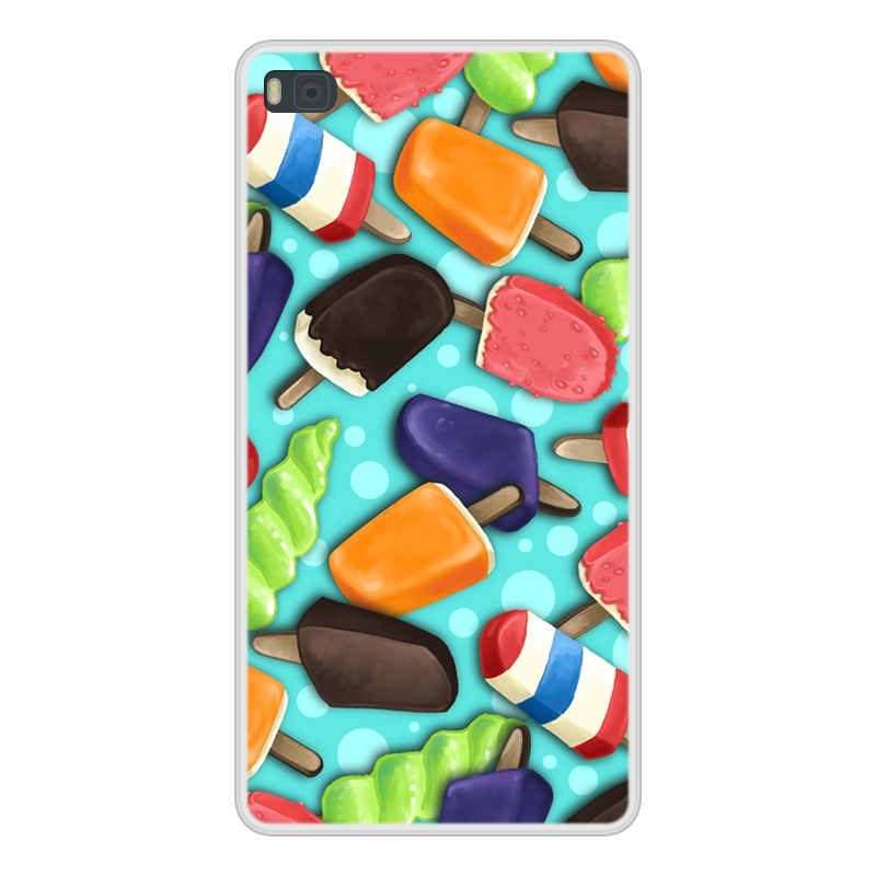 Case Cover For Huawei P8 Soft Silicone TPU Cool Patterned Print Coque For Huawei P 8 GRA L09 Phone Case
