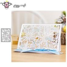 Piggy Craft do cięcia metalu umiera cięcia formy dekadencki płatki śniegu karty papier do notatnika craft nóż formy ostrze dziurkacza szablony