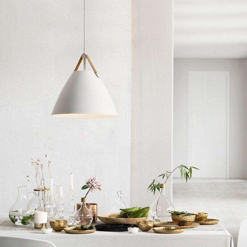 Simple Minimalist Dining Set: Modern Nordic Simple Dining Room Pendant Light Minimalist