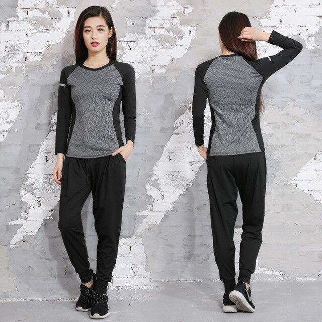 Eccezionale Online Shop Set Yoga Abbigliamento Sportivo Tuta Sport Suit Outfit  EF49