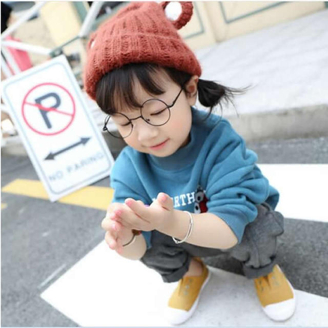 Crianças das crianças com outono e inverno suéter de cashmere casaco espessamento das crianças dos desenhos animados