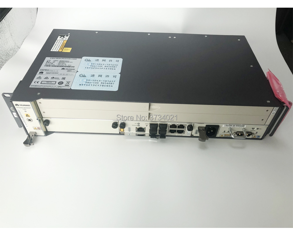 Image 2 - huawei olt ma5608t 16ports Opitcal Line Terminal Gpon/EPON OLT Device Chassis + 1*MCUD + 1*MPWC without service board.-in Fiber Optic Equipments from Cellphones & Telecommunications