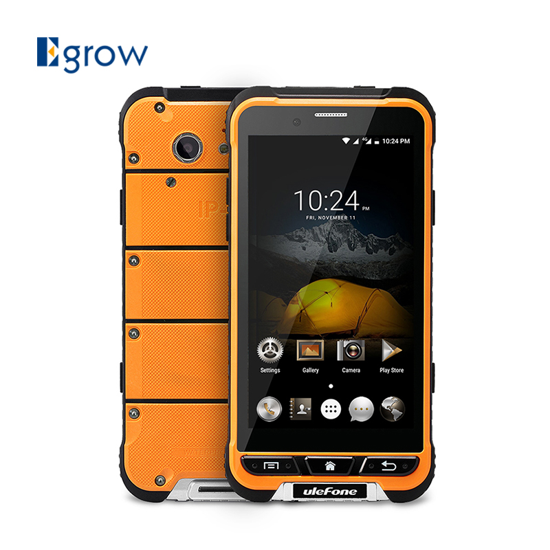 Цена за Оригинал ulefone броня сотовые телефоны mtk6753 окта основные android 6.0 мобильный Телефон 4.7 Дюймов 3 Г RAM 32 Г ROM Водонепроницаемый IP68 смартфон