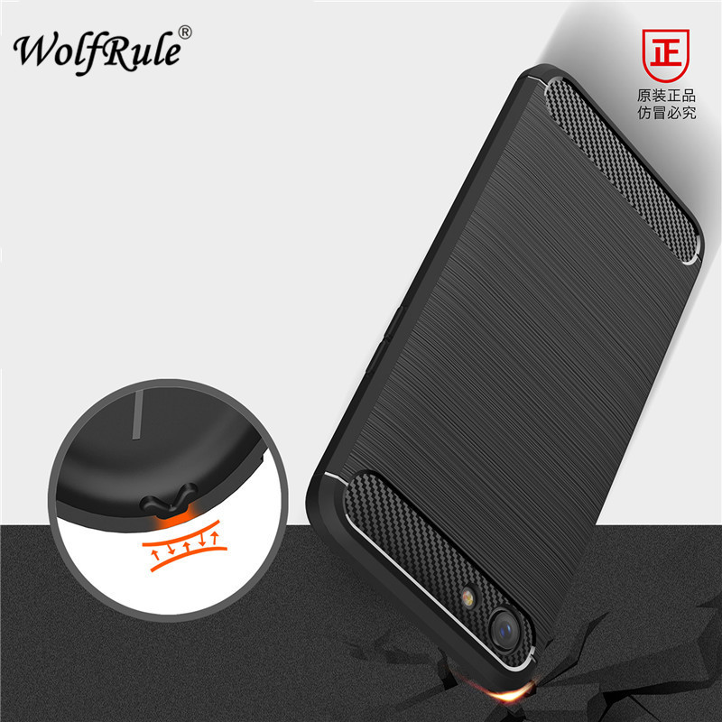 """WolfRule OPPO A83 Case Oppo A 83 Cover Shockproof Soft Silicone Brushed Back Case For OPPO A83 Case Phone Shell 5.7"""" }"""