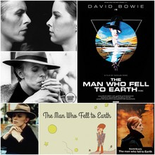 The Man Who Fell to Earth (1976) David Bowie Vintage Retro Matte Kraft Paper retro Poster Wall Sticker Home Decora 42X30cm the man who fell to earth original soundtrack recording 2 cd